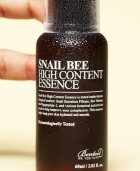 BENTON Snail Bee High Content Essence - Sérum escargot / venin d'abeille