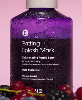 BLITHE Patting Water Pack Rejuvenating Purple Berry - Masque coréen raffermissant aux fruits rouges