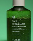 BLITHE Patting Water Pack Soothing Green Tea - Masque coréen purifiant au thé vert