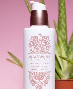 BLOSSOM JEJU Pink Camellia Soombi Blooming Vitamin Radiance Booster